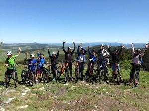 Saint-Maurice-de-Lignon : l'école du Sacré-Coeur en excursion au Mont Mézenc