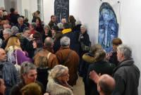 Le Chambon-sur-Lignon : un monde fou au vernissage aux Roches