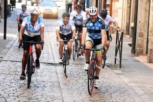Les Etoiles du Sport de passage au Puy-en-Velay avec Marie-José Pérec et Richard Dacoury