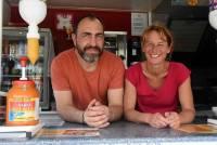 Pierre Bec et Caroline Sauvage