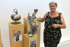 Yssingeaux : 18 artistes réunis pour une première exposition en mairie