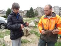 Tence : des collégiens de la Lionchère plantent des ripisylves