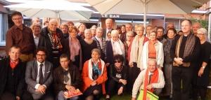 Les chanteurs du diocèse lors du précédent rassemblement en 2015 autour de Mgr Crepy