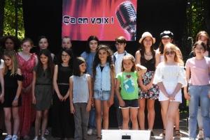Chadron : le concours de chant pour enfants Ça en voix monte en gamme