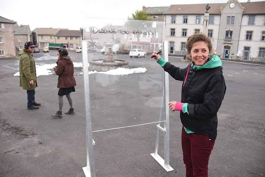 Fay-sur-Lignon : les architectes de retour sur la place