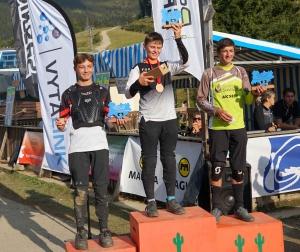 VTT enduro : le minime Justin Dufour vainqueur de la Coupe régionale