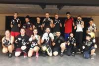 Blavozy : 100 % de réussite aux passages de grades en boxe française