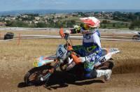 Saint-Maurice-de-Lignon : le motard Tristan Borel gagne la course sur prairie