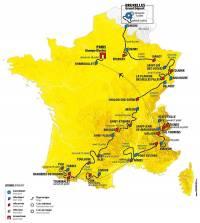 Le Tour de France 2019 de retour en Haute-Loire le 14 juillet