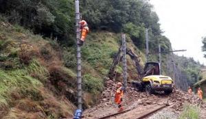 Ligne SNCF Le Puy/Saint-Etienne : après l'éboulement, les travaux prendront plusieurs semaines