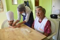 Rosières : un atelier brioches à la crèche
