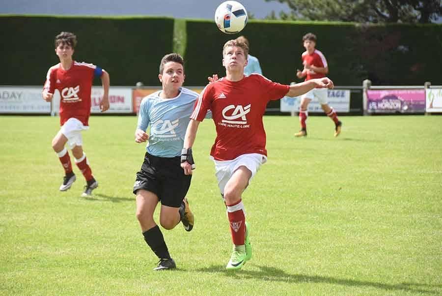 Foot : les photos de la finale U15 entre Monistrol et le Puy Foot