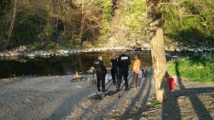 Aiguilhe : la police met fin à un barbecue au bord de la Borne