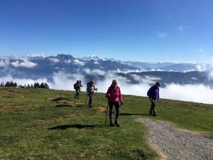 Le club de randonnée monistrolien a pris de la hauteur