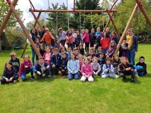 Les écoliers de Saint-Maurice-de-Lignon et du Pertuis se retrouvent au Neyrial