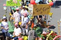 Le Tour de France est passé par Saint-Front dimanche.