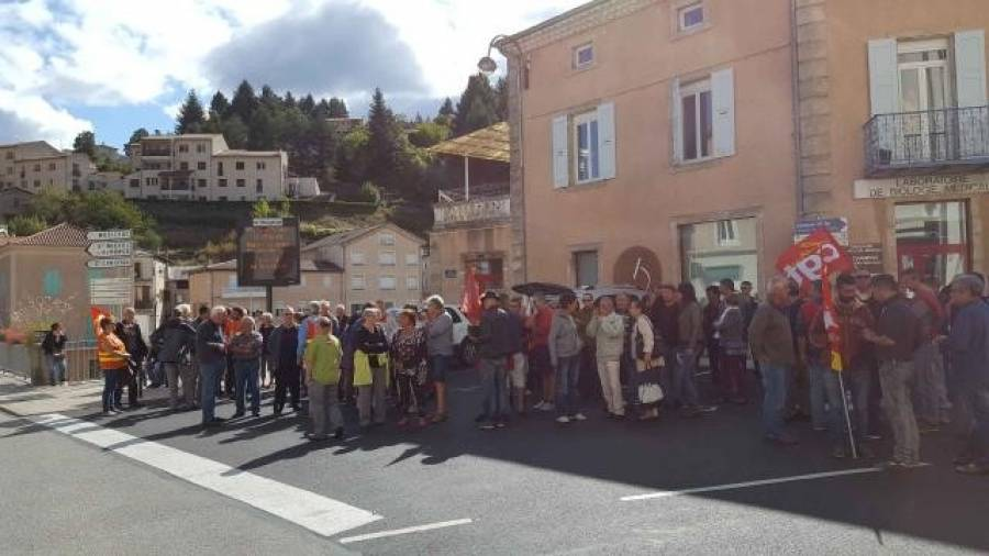 Deux cents manifestants au Cheylard