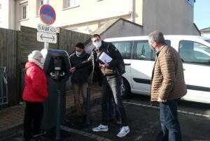 Saint-Just-Malmont : une borne de recharge électrique installée en centre-bourg