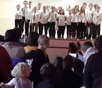 Saint-Front : les écoliers ont fêté Noël