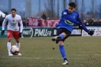 Florent Gache a raté un penalty alors que le score était de 1-0 pour Nancy.
