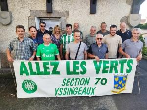 Yssingeaux : les supporters de l'ASSE préparent leur retour au stade Geoffroy-Guichard
