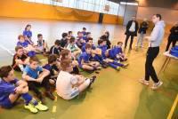 Yssingeaux : les collégiens footballeurs, les mêmes couleurs pour atteindre les prochains objectifs