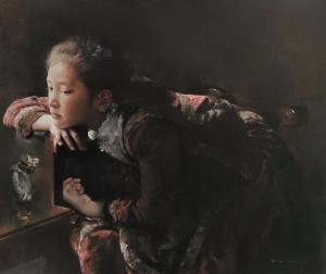 Le Chambon-sur-Lignon : Guo Runwen et ses troublantes toiles racontées au PIC