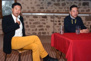 Fan Zhe et Guo Runwen