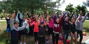 Aurec-sur-Loire : une équipe du collège privé remporte le raid multi-activités à Lavalette