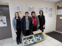 L'Urssaf Auvergne a organisé une collecte pour le Secours Populaire