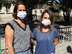 Carole Faugier et Gisèle Sagnol nouvelles directrices de l'école Saint-Joseph de Dunières.