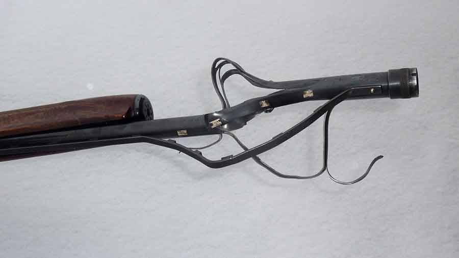 Yssingeaux : la balle se coince et explose le fusil du chasseur