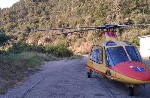 Un accouchement à domicile accompagnée d'un transfert par hélicoptère