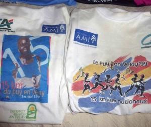 Puy-en-Velay : pas de course du 1er mai mais une belle collection de maillots