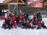 Fay-sur-Lignon : des écoliers en classe neige