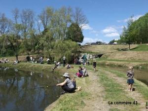 Le plan d'eau de Saint-Didier-en-Velay. Photo d'archives