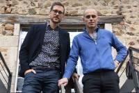 Julien Estier, spécialiste du management, et Séverin Samuel, responsable de l'agence Crit Interim à Monistrol-sur-Loire.