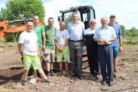 """""""Les élus tiennent à remercier particulièrement les communes qui ont apporté ce soutien et les employés qui ont fait un très bon travail dans des conditions pas toujours facile."""""""