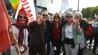 Une délégation de Haute-Loire à la manifestation parisienne de la France insoumise