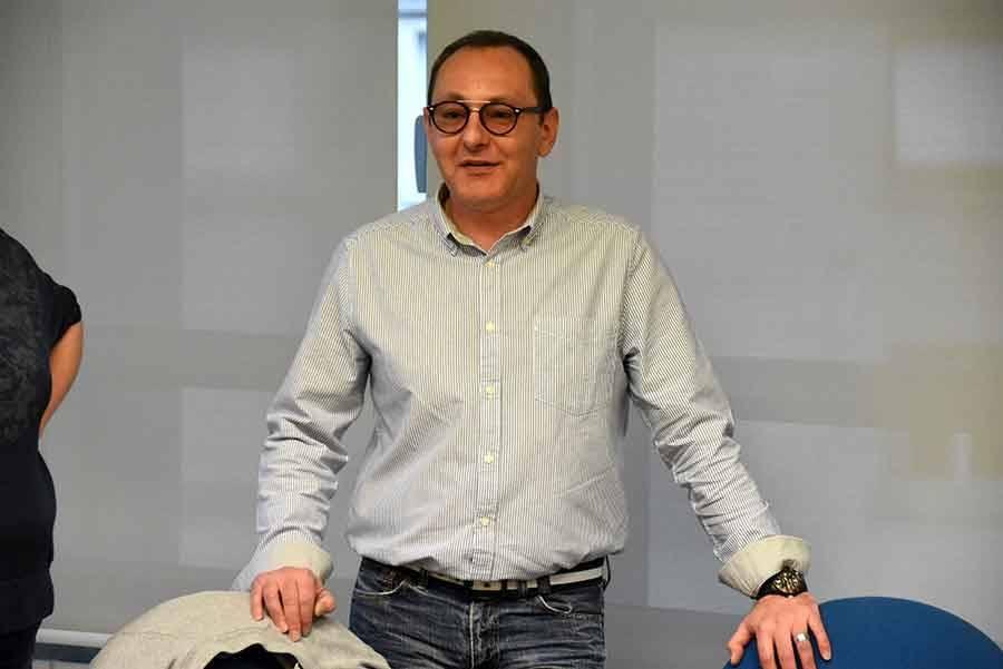 Stéphane Martle, couturier à La Séauve-sur-Semène.