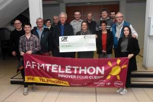 Téléthon : 5 200 euros récoltés au profit du Téléthon