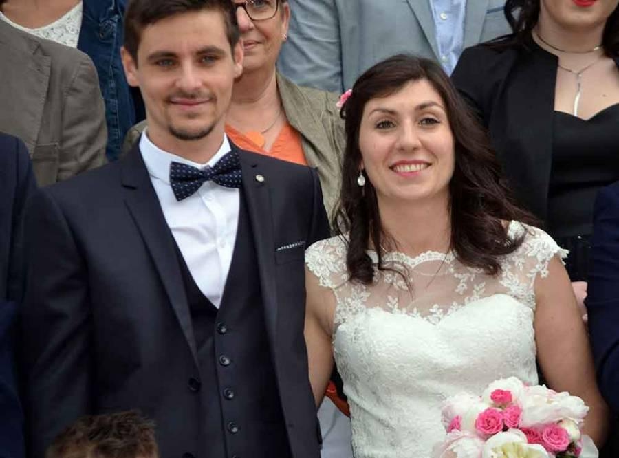 Carnet blanc : Laura et Mathieu à Yssingeaux