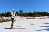 Mézenc : encore 15 km de pistes de ski de fond ouvertes et 6 km de circuit raquettes