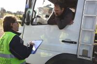 Monistrol-sur-Loire : les Gilets jaunes maintiennent les blocages des livraisons d'Intermarché et Aldi