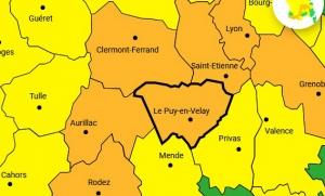 Vents violents : la Haute-Loire passe en vigilance orange