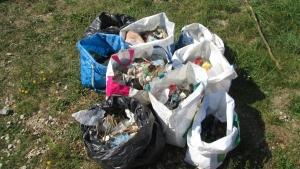 Lapte-Grazac-Raucoules : une collecte impressionnante de déchets