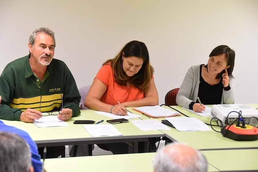 Joël Lacour, Violette Yerles Vivat et Sandra Gagne Calonnier