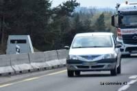 Le radar mobile de retour près du viaduc de Bessamorel sur la RN88