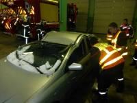 Tence : les pompiers manoeuvrent en intérieur