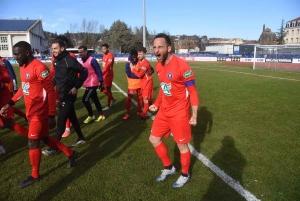 La joie du capitaine Loïc Dufau